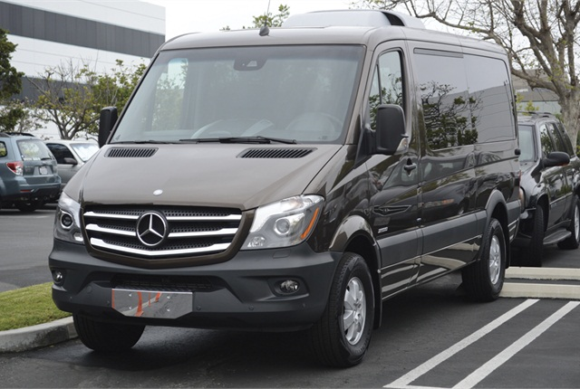2015 mercedes benz sprinter compact van details your for Mercedes benz work vans